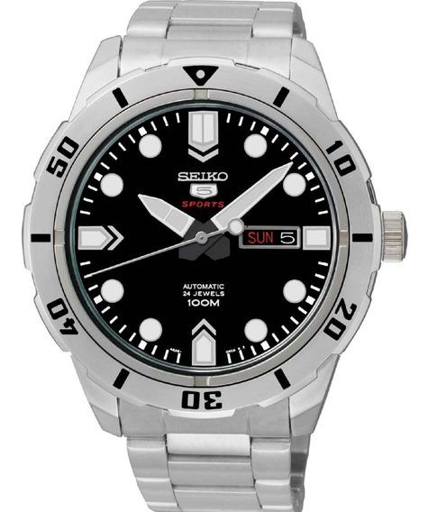 Relógio Seiko Masculino Automático Srp671b1 P1sx *24jewels