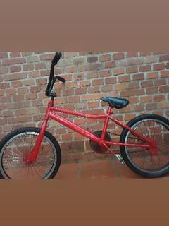 Bicicleta Cromada Para Saltos Etc