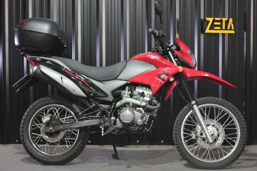 Zanella Zr 200 Ohc Usado Casi Nuevo Con Baúl