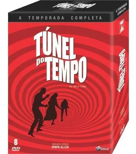 Dvd Túnel Do Tempo Serie Completa Dublada 8 Dvds Lacrado