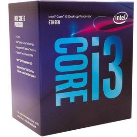 Proc Intel I3 8100 Coffee Lake 8a Gera 1151 Bx80684i38100