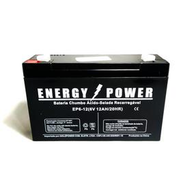 Bateria 6v 12ah Carro Do Batman - Camaro - Moto Elétrica