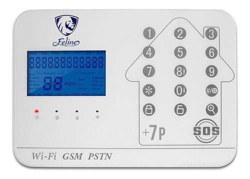 Wifi Kit 7 Alarma Plus Gsm Cel Touch Vecinal Seguridad Casa