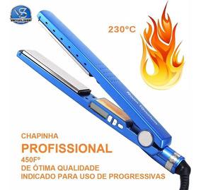 Chapinha Prancha Profissional Nano Titanium 230ºc Bivolt