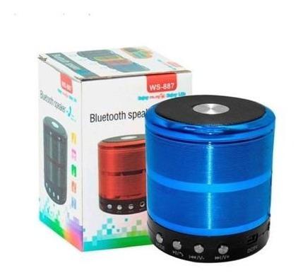 Mini Caixa Som Bluetooth Wireless Mp3 Fm Sd Usb Rad-b5312