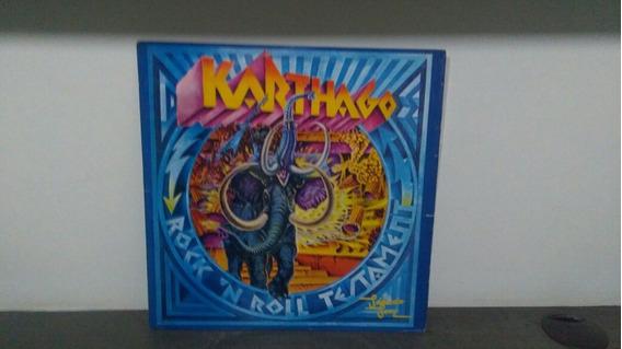 Karthago Lp Rock N Roll Testament Kautrock Progressivo Raro