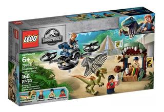 Lego Jurassic World Dilofosaurio A La Fuga 75934
