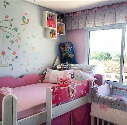Imagem 1 de 30 de Apartamento Com 2 Dormitórios À Venda, 59 M² Por R$ 370.000,00 - Gopoúva - Guarulhos/sp - Ap0426
