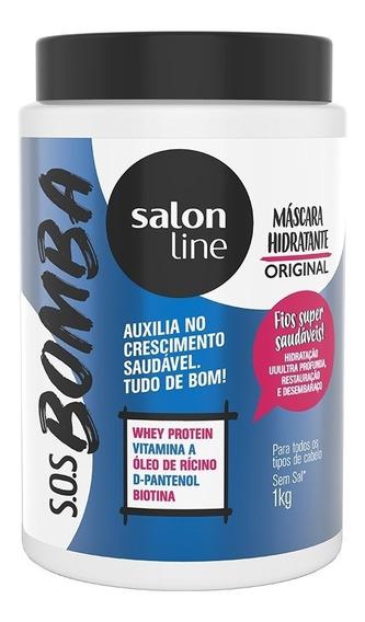 Máscara S.o.s Bomba De Vitaminas 1kg - Salon Line