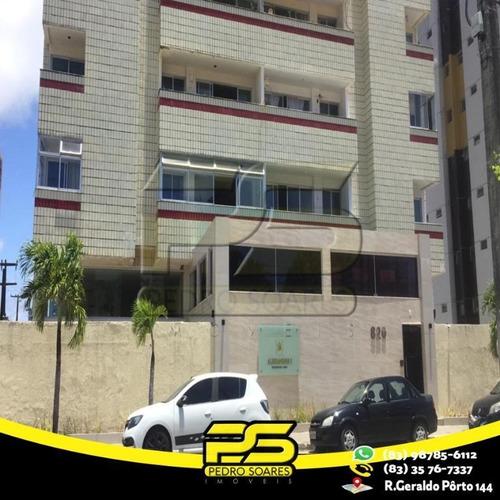 Apartamento Com 3 Dormitórios À Venda, 100 M² Por R$ 240.000,00 - Manaíra - João Pessoa/pb - Ap2416