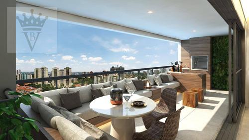 Apartamento Com 4 Dormitórios À Venda, 147 M² Por R$ 2.163.924 - Perdizes - São Paulo/sp - Ap5588