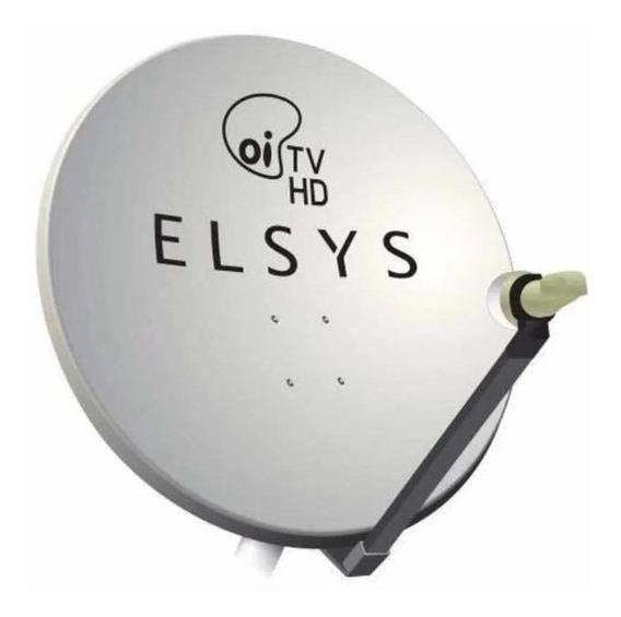 Antena Elsys Banda Ku Simples 75cm 20m Etk119