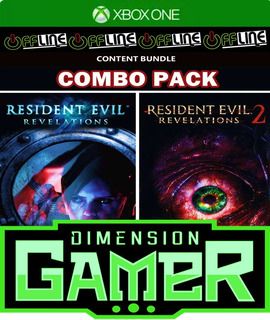 Resident Evil Revelations Bundle Xbox One No Codigo Off-line