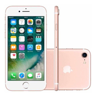 iPhone 7 Rose Gold 256gb Completo