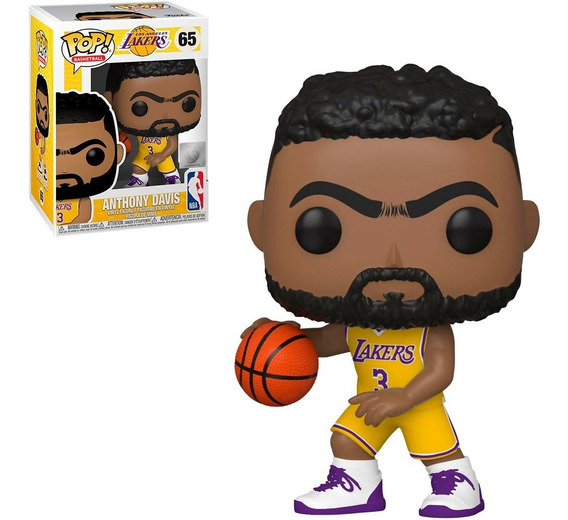 Funko Pop Basketball Nba Los Angeles Lakers Anthony Davis 65