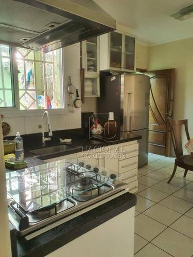Casa Com 2 Dormitórios À Venda, 125 M² Por R$ 390.000,00 - Parque Erasmo Assunção - Santo André/sp - Ca2760
