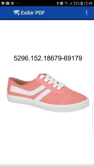 Tênis Feminino Moleca Casual Lona Skate Flat 5296152 Oferta