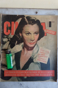 Revista Antigua Cinema Reporter Vivien Leigh