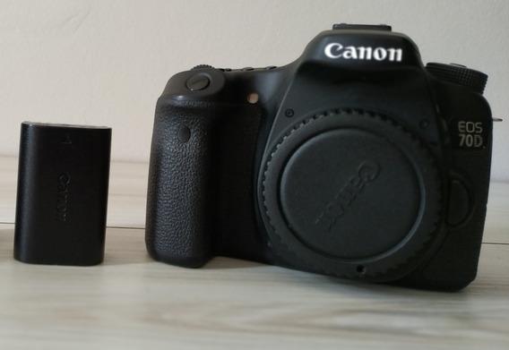 Canon 70d Impecavel - Preço Para Vender Logo