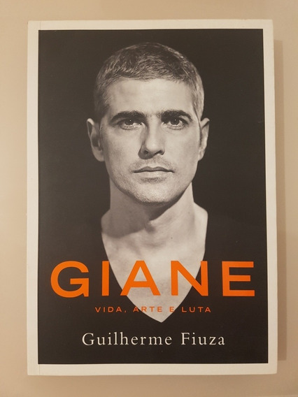 Livro Autografado Giane Vida, Arte E Luta.