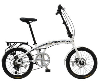 Bicicleta Plegable Oxea R20 7 Vel. Aluminio F/disco