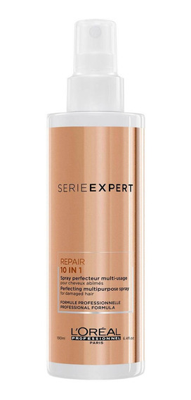 Spray Serie Expert 10 En 1 Repair Gold Quinoa 190 Ml Loréal