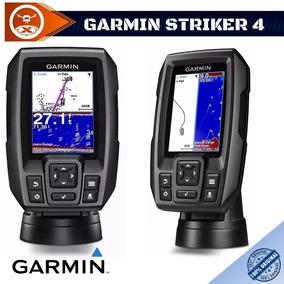 Gps Sonar Garmin Fishfinder Striker Plus 4 Gps Português