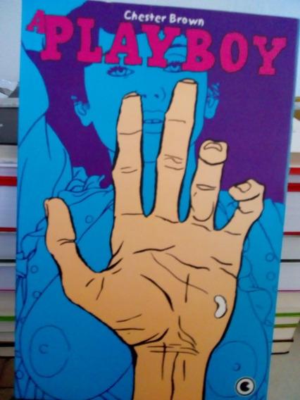Livro A Playboy Chester Brown