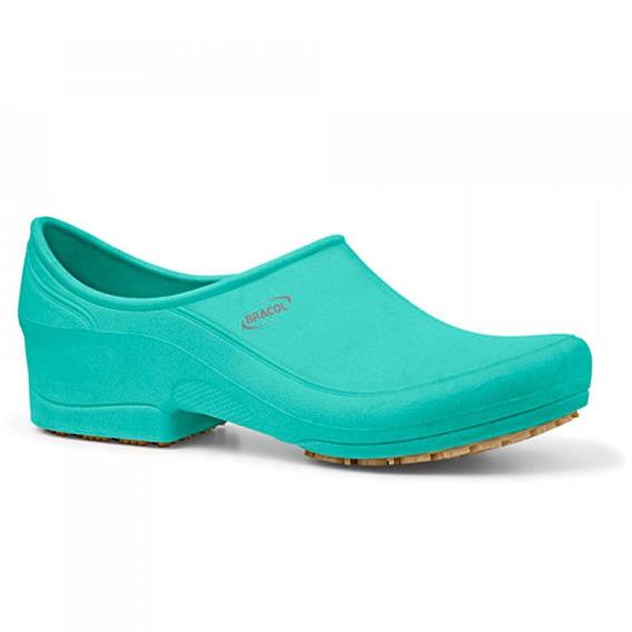 Sapato Flip Impermeável Verde Com Solado De Borracha Nº 38-b