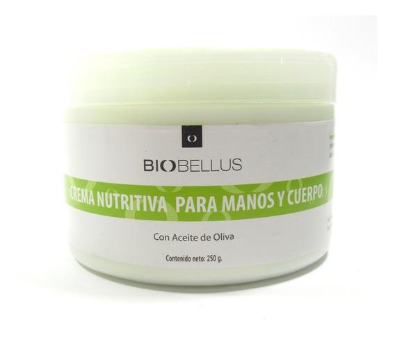 Crema Nutritiva Manos Y Cuerpo C/aceite Oliva X 250g - Biobe