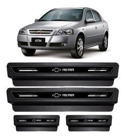 Soleira De Porta Platinum Astra 2002 2003 Á 07 2008 - Preto