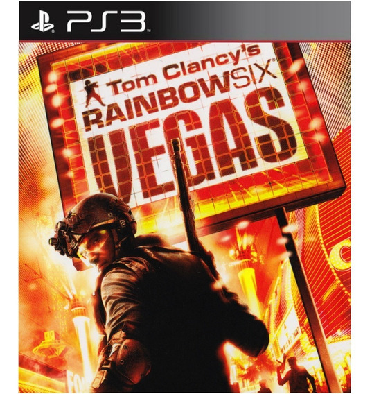 Tom Clancys Rainbow Six Vegas 1 - Ps3 Psn Play 3