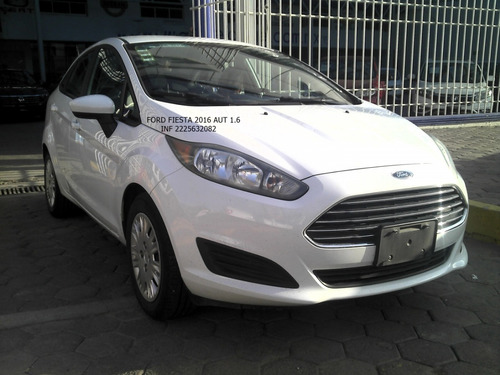 Imagen 1 de 11 de Ford Fiesta 2016 S 4 Cil Automatico 1.6 Eng $ 31,600