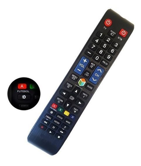 Controle Remoto Samsung Smart Tv Led 3d Lcd Função Futebol