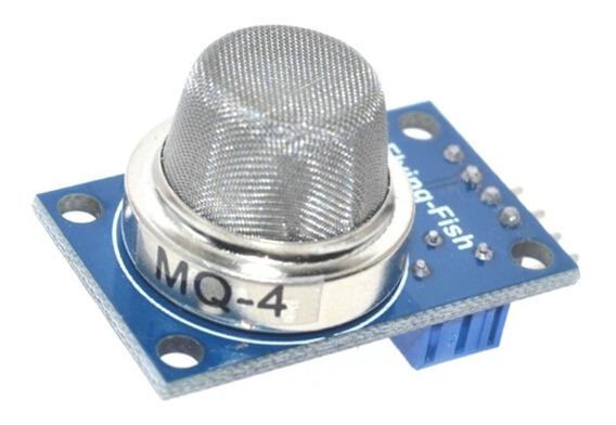Sensor Mq-4 Gás Metano Butano Arduino Raspberry Galileo Esp