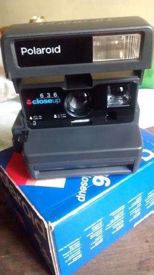 Para Colecionador: Polaroid 636 - Ano 1996 - Está Seminova!