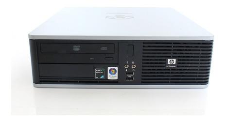 Imagem 1 de 4 de Cpu Hp Compaq Dc5850 Amd 2gb Hd 80gb Teclado E Mouse