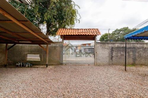 Terreno À Venda, 783 M² Por R$ 650.000,00 - Boqueirão - Curitiba/pr - Te0107