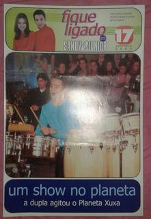Revista Fique Ligado De Sandy E Junior Setembro De 2000