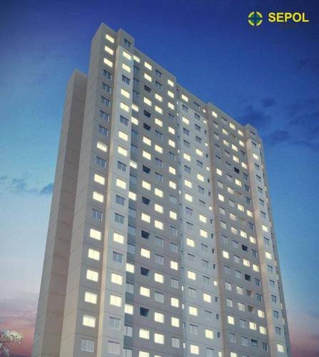 Apartamento Com 2 Dormitórios À Venda, 40 M² Por R$ 276.300,00 - Raposo Tavares - São Paulo/sp - Ap0717