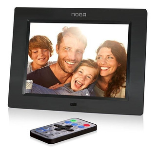 Porta Retrato Digital Noganet 8 8090 800 X 600 220v Sd Usb