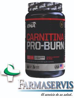 Carnitina Pro Burn Quemador Grasas Ena X60 Comp Farmaservis