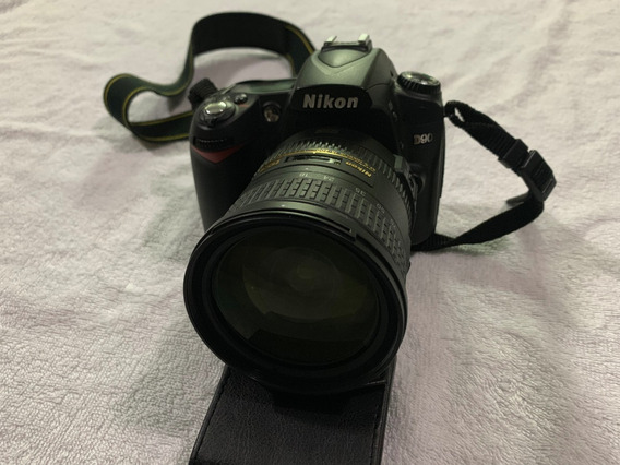 Maquina Fotográfica Nikon D-90 E Acessorios