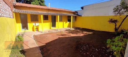 Imagem 1 de 14 de Casa Fundos Dependente 1 Dormitório Para Alugar, 56 M² Por R$ 1.200/mês - Parque Real - Campinas/sp - Ca2556