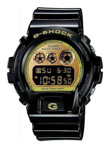 Relógio Casio G-shock Dw-6900cb-1ds Mostrador Dourado