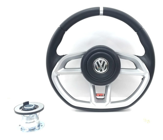 Volante Shutt Especial Esportivo Para Buggy Baby/brm/fiber