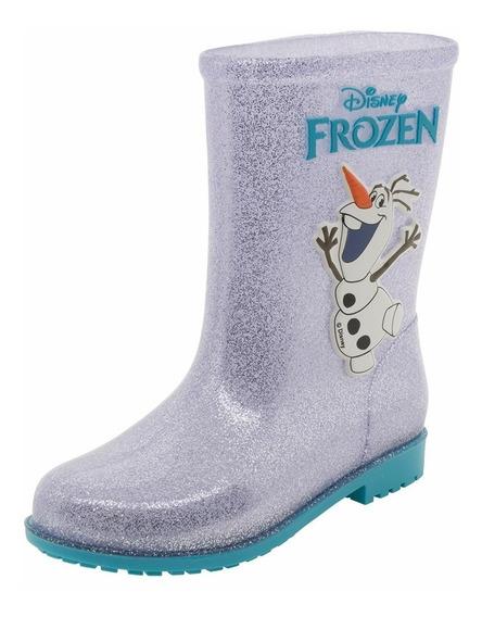 Galocha Bota Frozen Infantil Fairytale 21432 Grendene Kids
