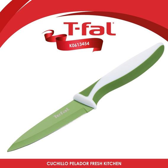 Cuchillo C/antiadherente Fresh Kitchen Verde T-fal K0613454