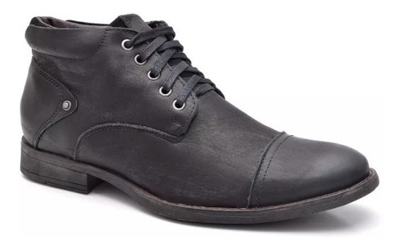 Sapato Botina Casual Social Masculino Bota Franca Dh