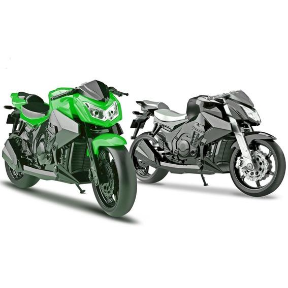 Moto Naked Motorcycle 26cm Várias Cores Roma